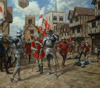 22nd May 1455: Wars of the Roses begin at the Battle of St Albans
