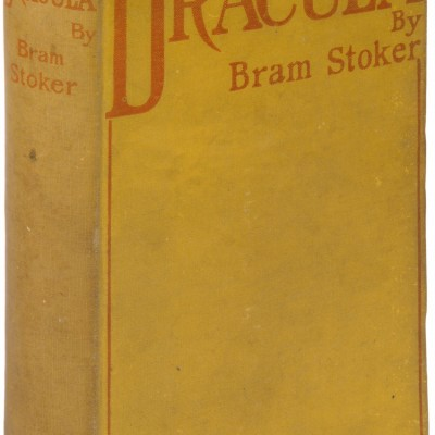 26th May 1897: Bram Stoker's gothic horror novel Dracula published