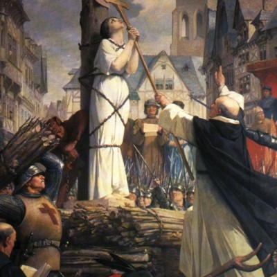 30th May 1431: Joan of Arc executed by burning at the stake