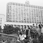 Yeltsin defying the August Coup 1991