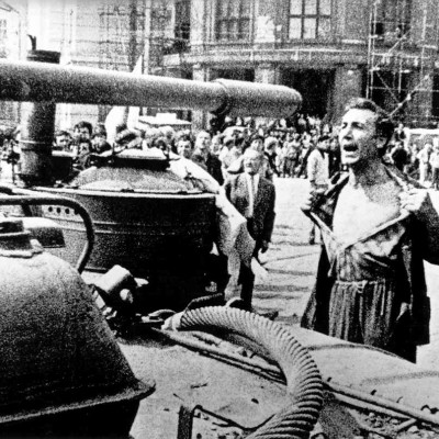 Warsaw Pact troops invade Czechoslovakia