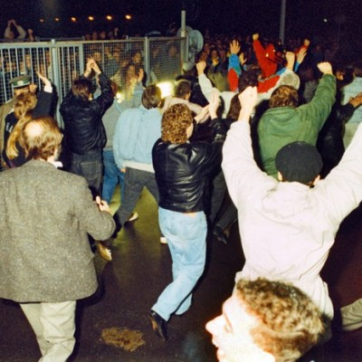 9th November 1989: East Germany opens the Berlin Wall