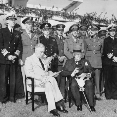 14th January 1943: Churchill and Roosevelt meet at the Casablanca Conference