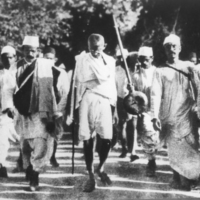 12th March 1930: Gandhi begins the Salt March to Dandi