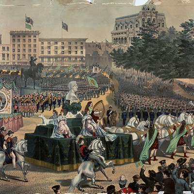 17th March 1766: First Saint Patrick's Day parade