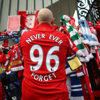 15th April 1989: 96 Liverpool fans killed in the Hillsborough Disaster