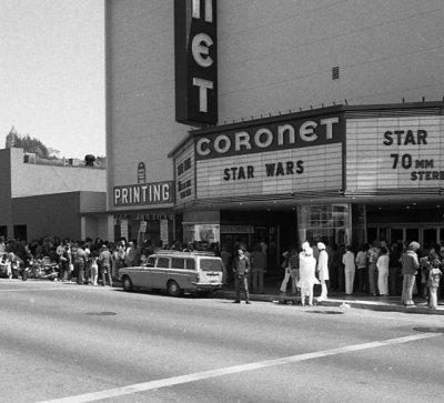 25th May 1977: The first Star Wars film is released in cinemas