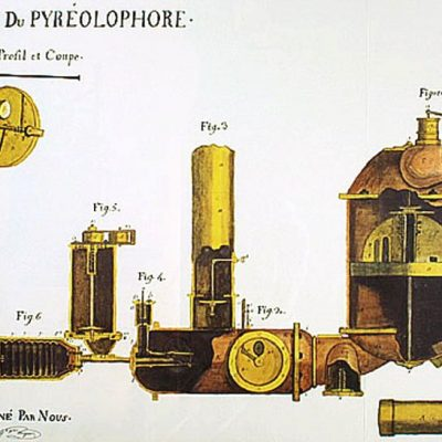 20th July 1807: The world's first internal combustion engine is patented in France