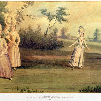 26th July 1745: First ever women's cricket match played near Guildford