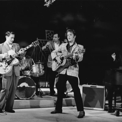 9th September 1956: Elvis Presley makes his first appearance on The Ed Sullivan Show