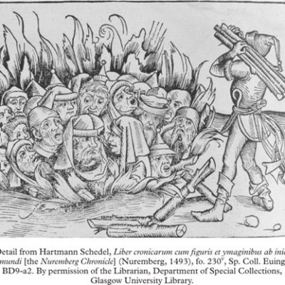 9th January 1349: Jews massacred in Basel during the Black Death persecutions