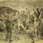 Nighttime attack on Spion Kop