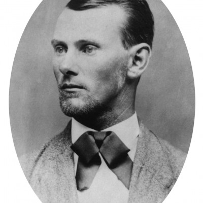 3rd April 1882: Outlaw Jesse James shot by Robert Ford