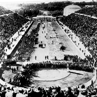 6th April 1896: The first modern Olympic Games take place