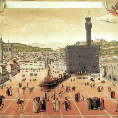 7th April 1498: Savonarola meets to take part in a trial by fire