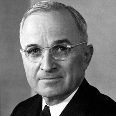 12th April 1945: Harry Truman becomes president of the USA
