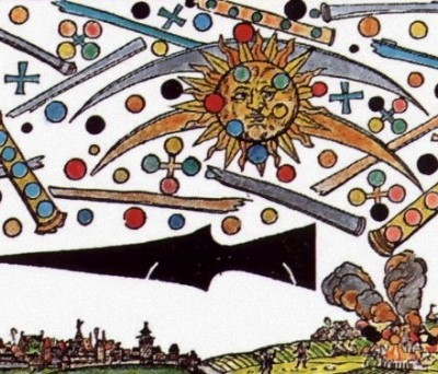 14th April 1561: Nuremberg Celestial Phenomenon terrifies residents