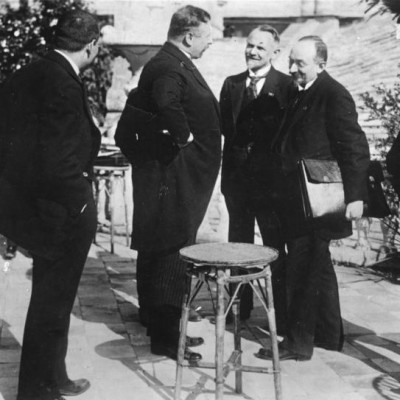 16th April 1922: Treaty of Rapallo signed by Germany and Russia