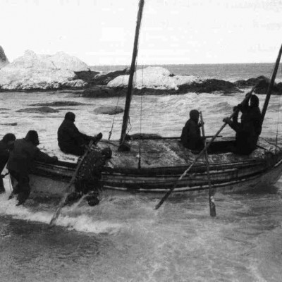 24th April 1916: Ernest Shackleton sets sail in the James Caird