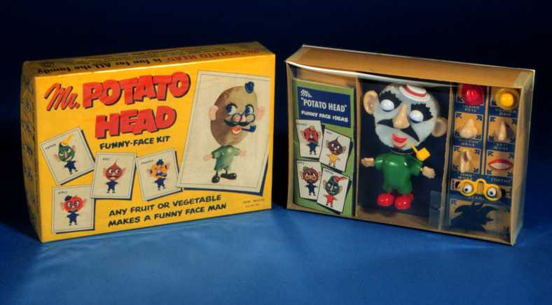 1st May 1952: Mr Potato Head goes on sale for the first time | HistoryPod