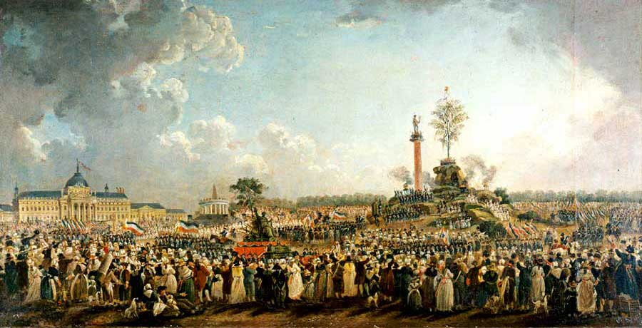 7th May 1794: Robespierre establishes Cult of the Supreme Being   HistoryPod