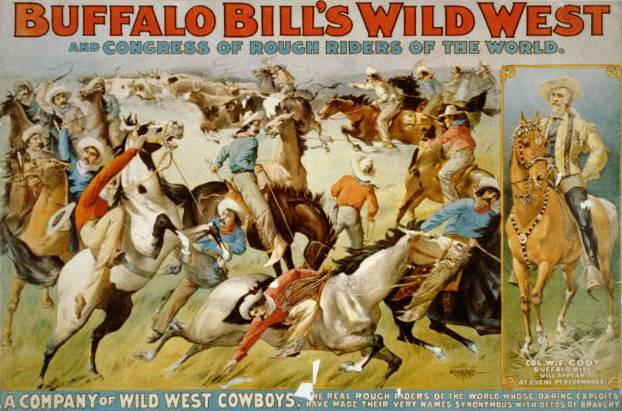9th May 1887: Buffalo Bill's Wild West Show opens in London   HistoryPod