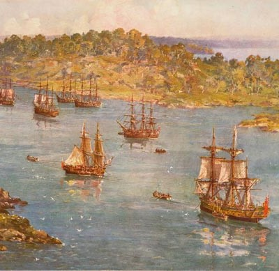 13th May 1787: The First Fleet departs for Australia