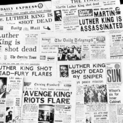 4th April 1968: Assassination of Martin Luther King Jr. in Memphis, Tennessee