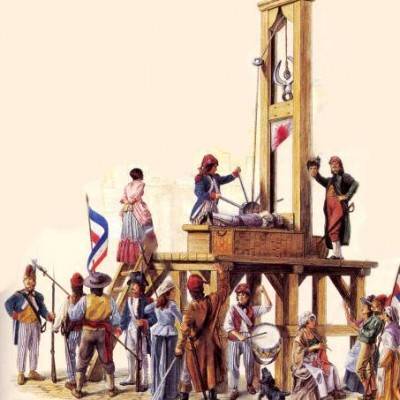 25th April 1792: First execution using the guillotine