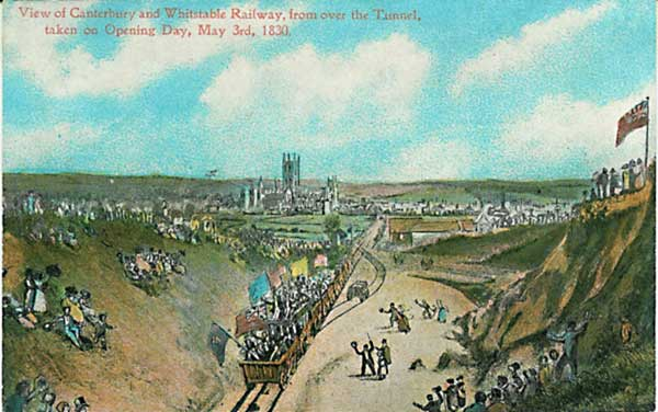 3rd May 1830: First timetabled passenger railway begins service   HistoryPod