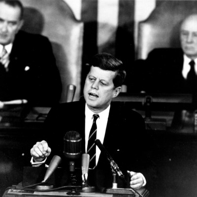 25th May 1961: Kennedy announces plan for manned moon landing