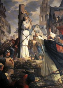 Joan of Arc's execution