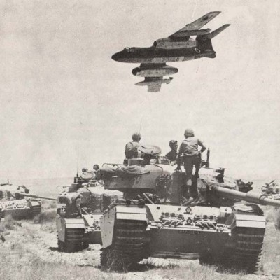 5th June 1967: Start of the Arab-Israeli Six Day War