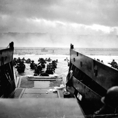 6th June 1944: D-Day landings mark the start of Operation Overlord