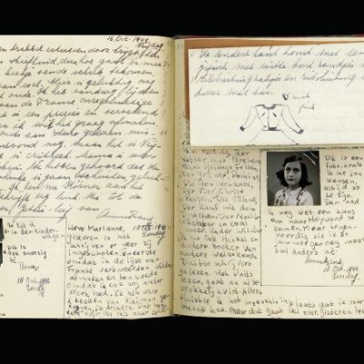 12th June 1942: Anne Frank receives a diary for her 13th birthday