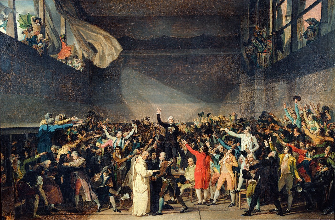 20th June 1789: National Assembly swears the Tennis Court Oath | HistoryPod