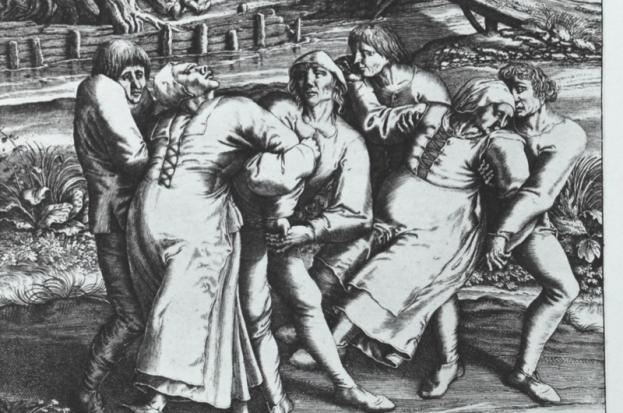 24th June 1374: Dance Plague breaks out in Aachen, Germany | HistoryPod