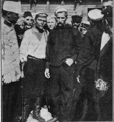 27th June 1905: Russian sailors mutiny on the battleship Potemkin