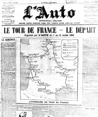 1st July 1903: First Tour de France cycling race takes place | HistoryPod
