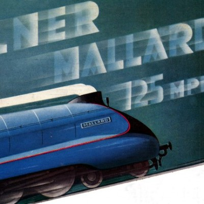 3rd July 1938: Mallard sets world speed record for steam locomotives