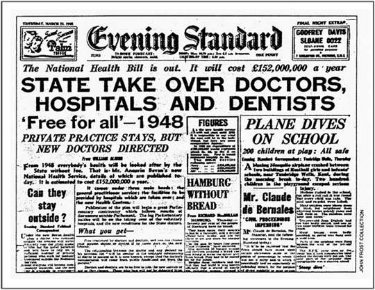5th July 1948: The National Health Service launched in the UK | HistoryPod