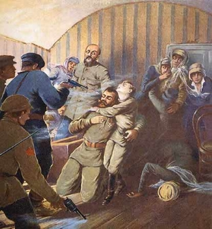 17th July 1918: Romanov family shot dead by the Bosheviks