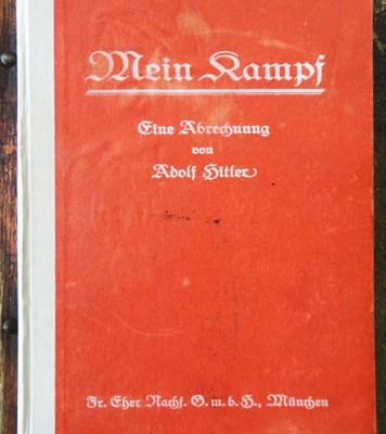 18th July 1925: Hitler publishes first volume of Mein Kampf