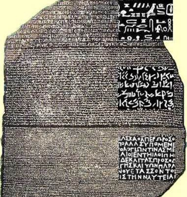 19th July 1799: Discovery of the Rosetta Stone reported in Egypt