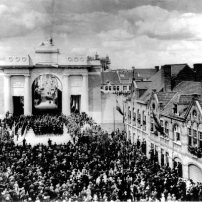 24th July 1927: Menin Gate Memorial to the Missing is unveiled