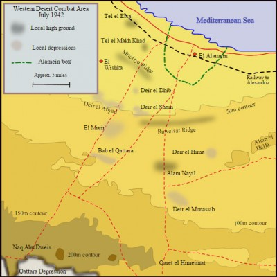 27th July 1942: Allies halt Axis in First Battle of El Alamein