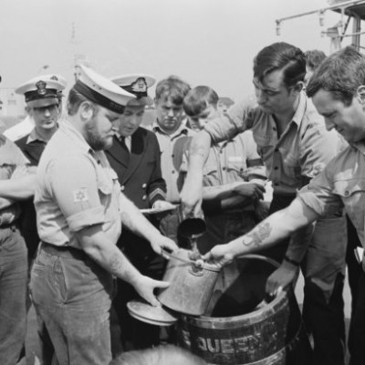 31st July 1970: Black Tot Day ends the Royal Navy's daily rum ration