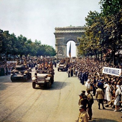 25th August 1944: Paris liberated from Nazi control