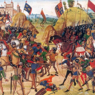 26th August 1346: The longbow helps Edward III win the Battle of Crécy