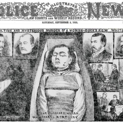 31st August 1888: Discovery of the first victim of Jack the Ripper in London